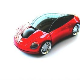 Car Shape 2.4Ghz Wireless Optical Mouse