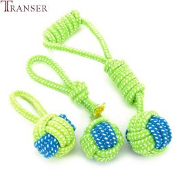 Dogs Chewing Fun Rope Ball