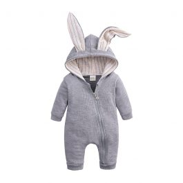 2019 Easter Bunny Ear Baby suit